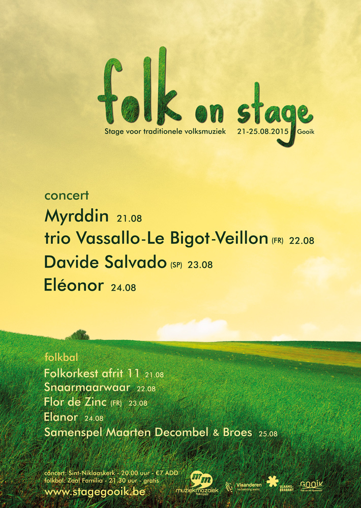 Affiche Folk on stage