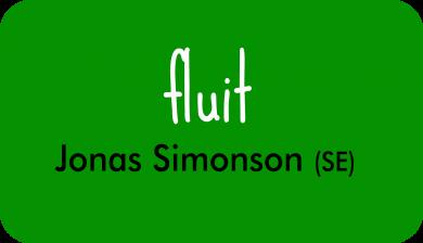 fluit bij Jonas Simonson
