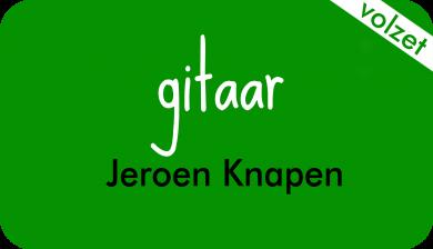 gitaar bij Jeroen Knapen