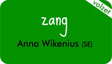 zang bij Anna Wikenius