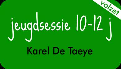 jeugdsessie bij Karel De Taeye