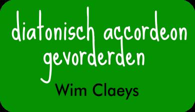 diatonisch accordeon gevorderden bij Wim Claeys