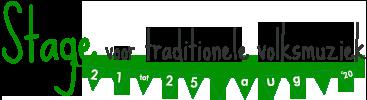 Stage voor Traditionele Volksmuziek Logo